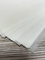 Бумага пергамент в листах, ф 280*350 мм, плотность 40г/м2 , цвет белый