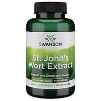 Экстракт Зверобоя, Swanson, St. John's Wort Extract, 300 мг, 120 капсул