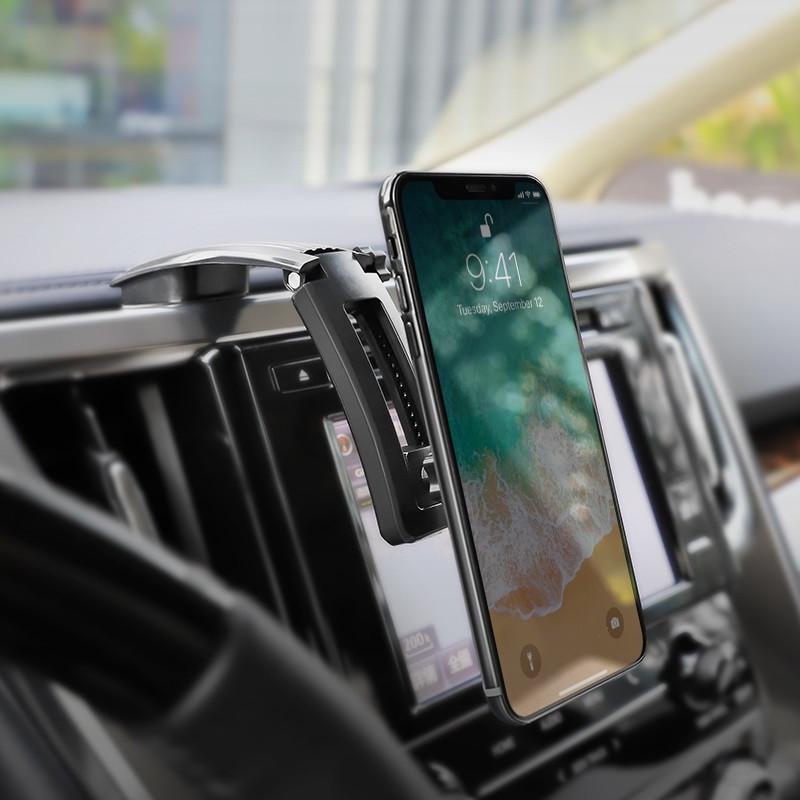 Магнитный держатель телефона Borofone BH17 на центральную панель авто