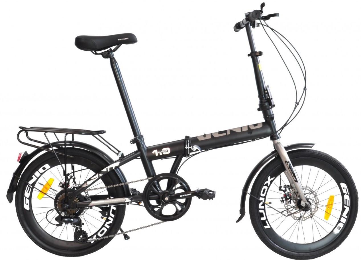 """Дорожній складаний велосипед 20"""" Genio Lunox"""