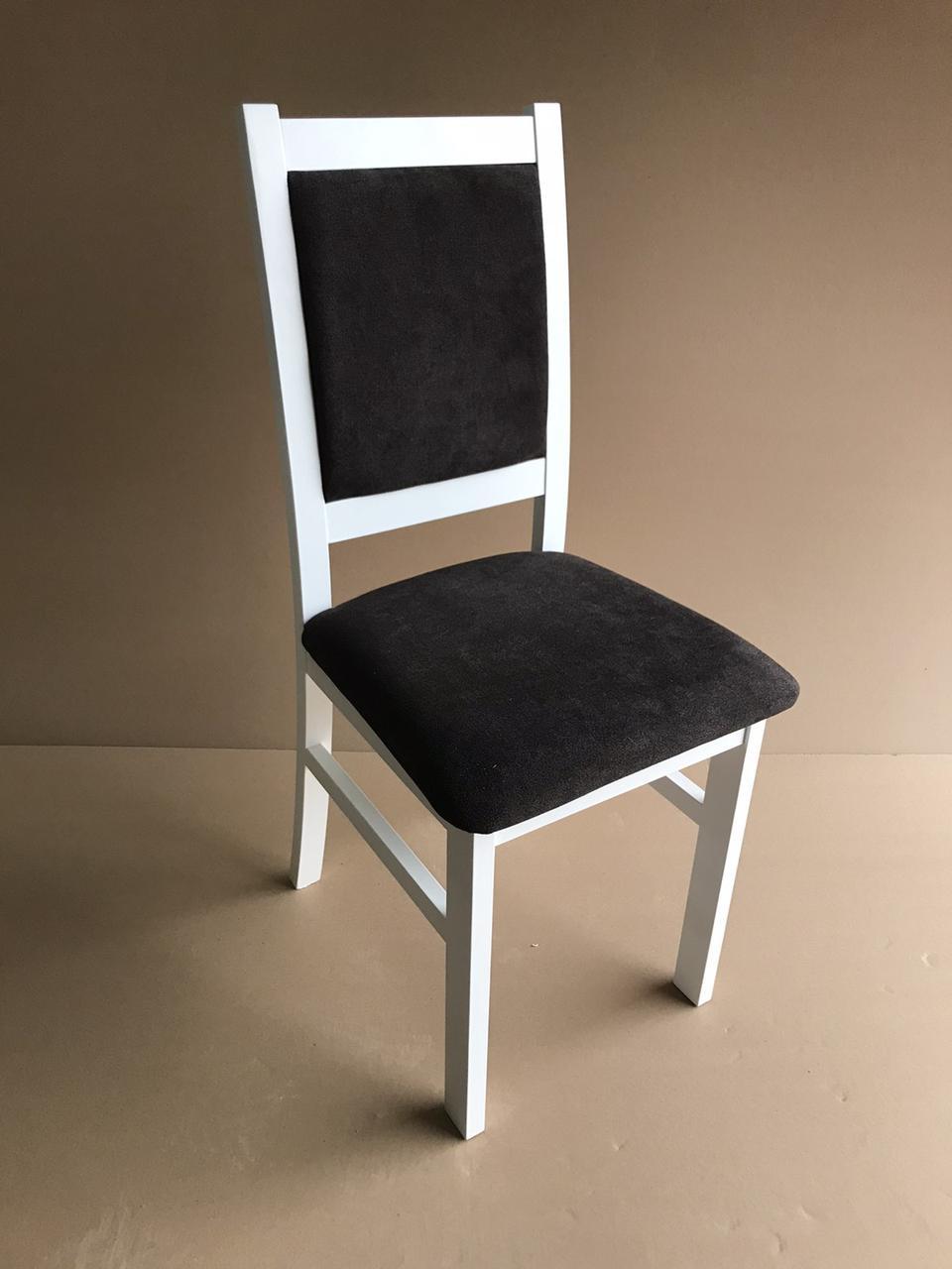 Стілець обідній дерев'яний М Olberg, колір білий