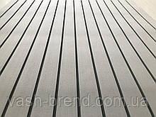 Eva искуcтвенный тик Color 4 (светло-серый тик, черная полоса)