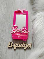 Чехол 3D для iPhone 6s plus Барби Barbie розовый