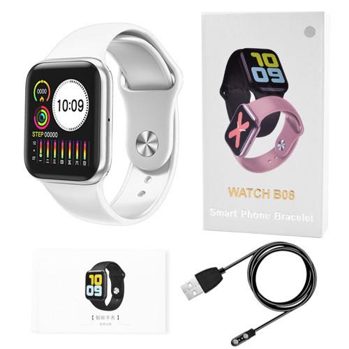 Розумні годинник Smart Watch B08 (Білий)