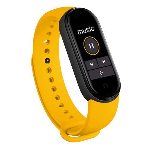 Фитнес браслет Mi Band 6 (Copy) Желтый