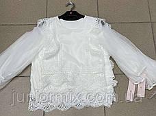 Нарядная детская блузка для девочек оптом