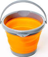 Ведро складное Tramp TRC-092 5 л силиконовое Orange