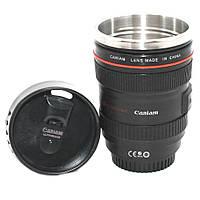 Термос Кружка-объектив Canon 24-105L 350 мл Оригинальная термокружка из нержавеющей стали для кофе и чая