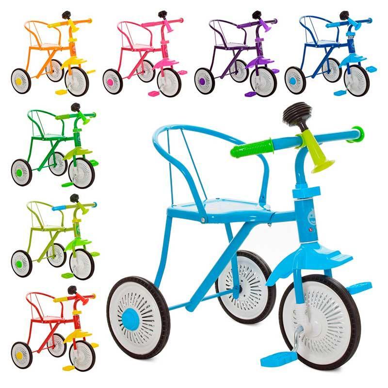 Триколісний дитячий Велосипед М 5335 з клаксоном