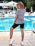 Женская летняя футболка коттон 100% с коротким рукавом: размер 42-44,44-46, фото 2