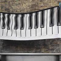 Пляжное полотенце с принтом Piano