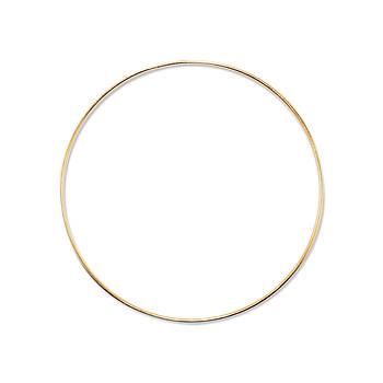 Основа круглая для макраме, ловца снов, Золото, 200 мм