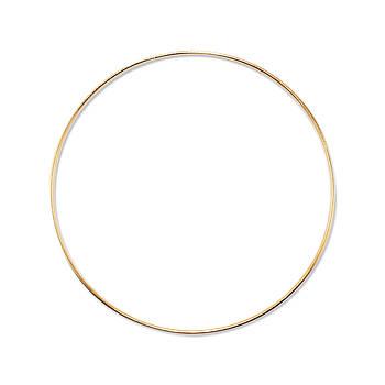 Основа круглая для макраме, ловца снов, Золото, 250 мм