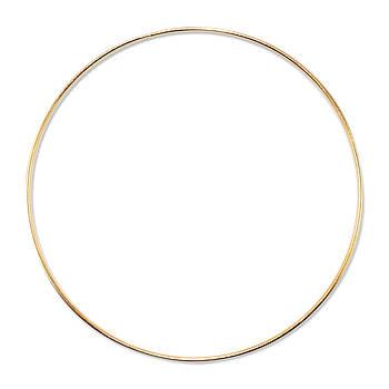 Основа круглая для макраме, ловца снов, Золото, 350 мм