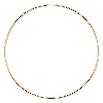 Основа круглая для макраме, ловца снов, Золото, 400 мм