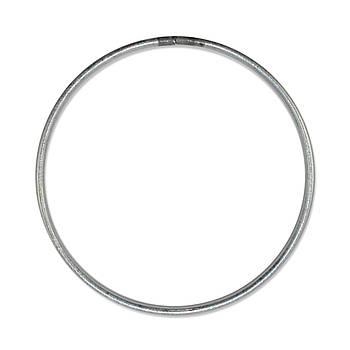 Основа круглая для макраме, ловца снов, Алюминий, под обвязку, 80 мм