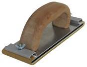 Рубанок деревянный вид С. Крепление винтовой зажим 185х70