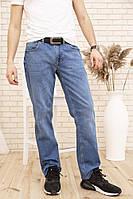 Джинсы мужские 171R011 цвет Голубой