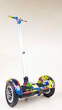 Гироскутер-сигвей с ручкой Smart Balance Wheel А8 Джунгли