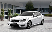 Комплект обвеса 63 AMG на Mercedes Benz C class W204
