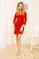 Платье 167R996 цвет Красный