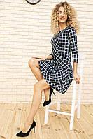 Платье 167R939 цвет Сине-бирюзовый