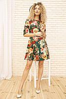 Платье 167R86 цвет Зеленый