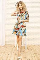Платье 167R86 цвет Голубой