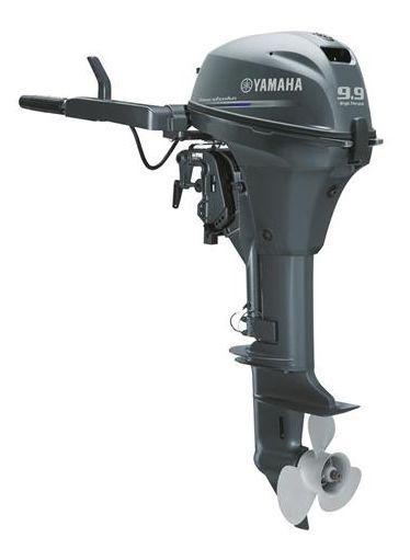 Лодочный мотор Yamaha, 9.9 лс, 4 тактный, FT9.9LMHL - подвесной мотор для яхт и рыбацких лодок