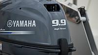 Лодочный мотор Yamaha, 9.9 лс, 4 тактный, FT9.9LMHL - подвесной мотор для яхт и рыбацких лодок, фото 2