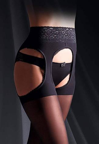 Колготки имитация чулков с кружевным поясом на силиконовой резинке Giulia IMPRESSO LOVE, фото 2