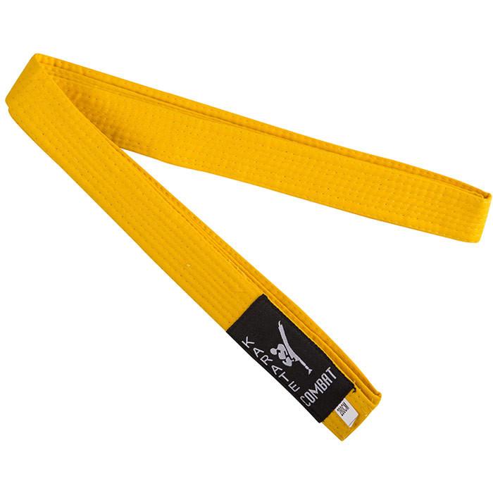 Пояс для кимоно желтый 2.8 м