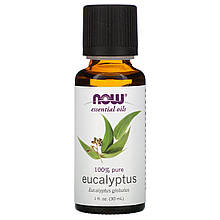 Эфирное масло эвкалипта лучистого Нау Фудс Now Foods Essential Eucalyptus Radiata Oil 30 мл