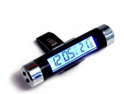 Термометры и часы в автомобиль
