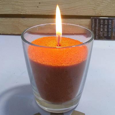 Насыпные свечи цветные, насыпной воск