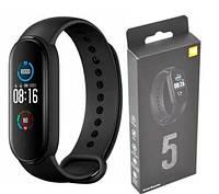 Смарт фитнес браслет Xiaomi smart Mi band 5 M5, умные часы, трекер