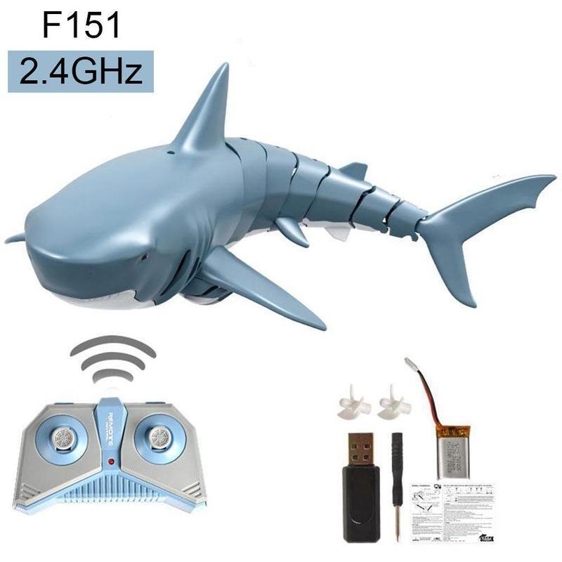 Плаваюча акула з пультом управління TOACH №1322