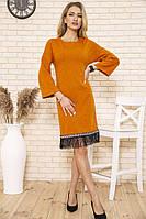 Платье 167R1628 цвет Светло-коричневый
