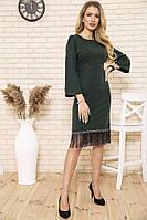 Платье 167R1628 цвет Зеленый