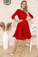 Платье 167R1624 цвет Красный