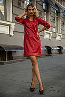 Платье 153R1108 цвет Красный