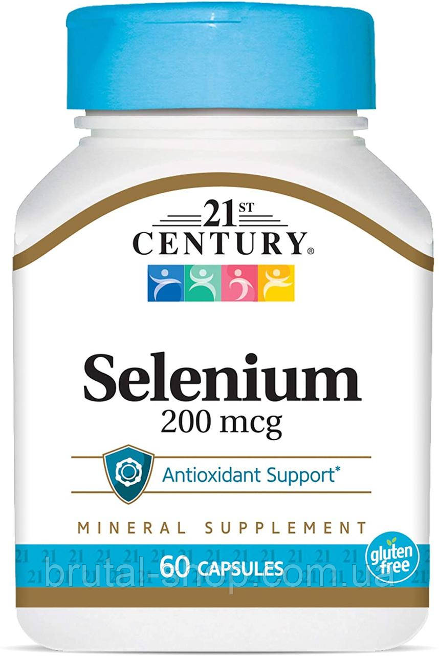 21st Century Selenium  200mcg (60caps)