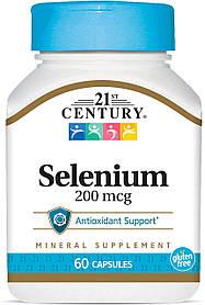 Селен 21st Century Selenium 200mcg (60caps)