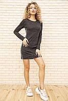 Платье 167R1072-2 цвет Грифельный