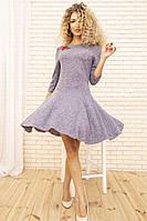 Платье 167R1071 цвет Сиреневый