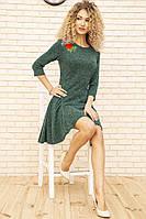 Платье 167R1071 цвет Зеленый