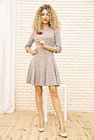 Платье 167R1071-2 цвет Пудровый