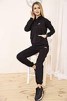 Спорт костюм жен. 129R1467-14 цвет Черный