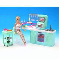 Мебель Gloria  кухня, плита, духовка, мойка, этажерка, стул, посуда, фото 1
