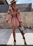 Костюм жіночий річний гарний з шортами Оверсайз, фото 5